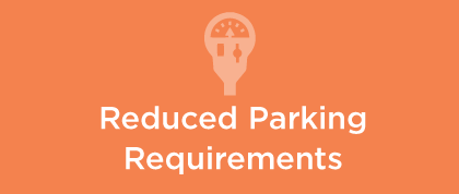 reduced parking requirements