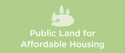 public land for affordable housing