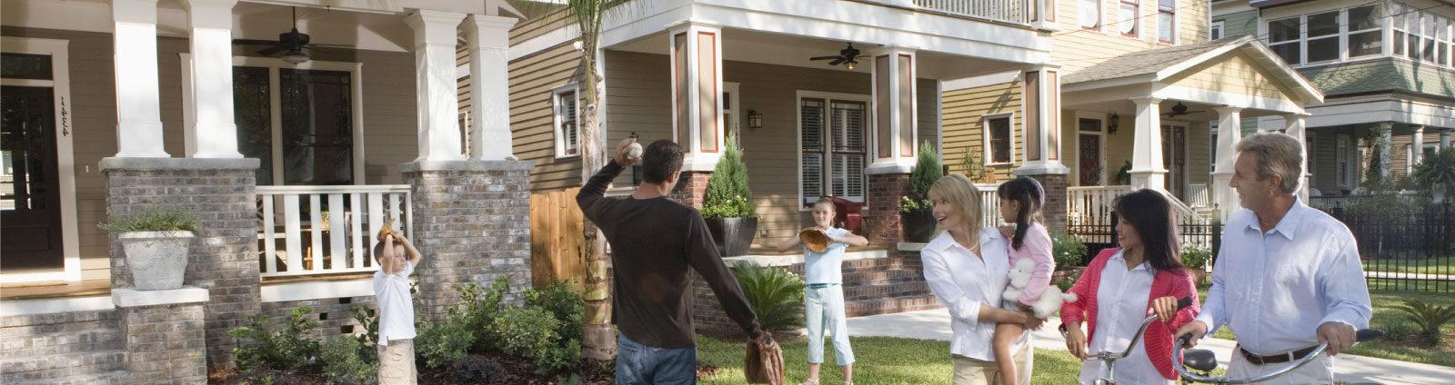 get involved header, Residential Neighborhood photo